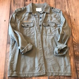 Forever 21 Army Green Field Jacket